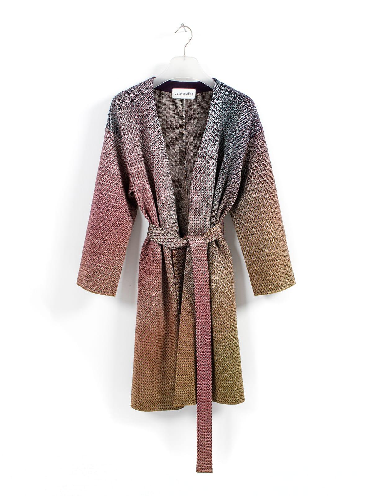 knitted Jacquard Coat Belize_Halfmoon Caye