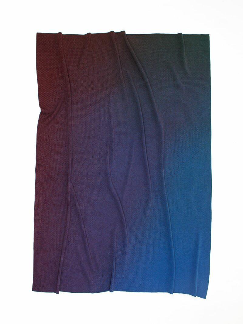 Knitted Blanket Venice - Merino Wool