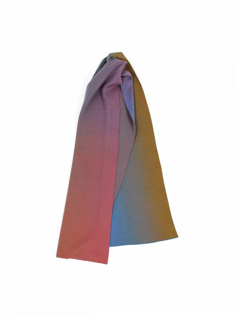 Knitted Scarf Lucca - Merino Wool draped
