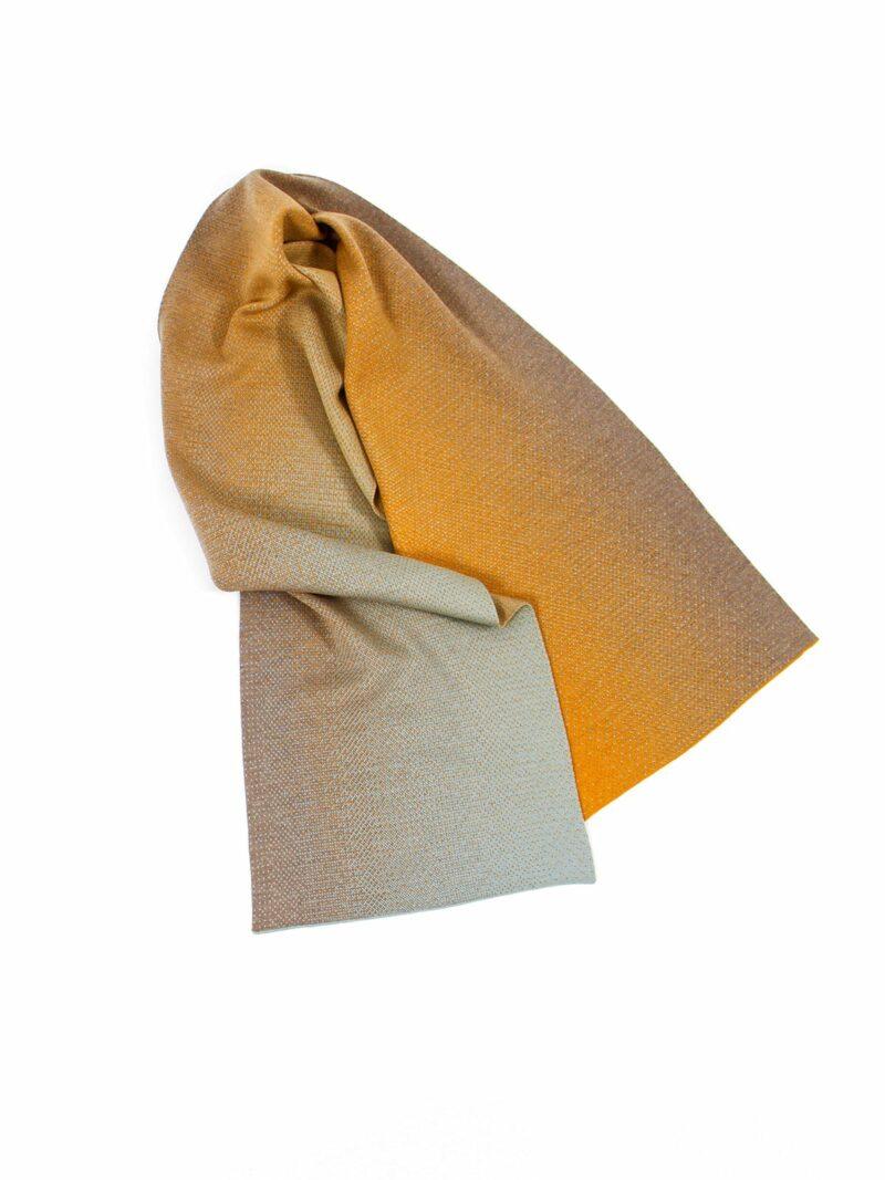 Knitted Scarf Rabat - Merino Wool draped