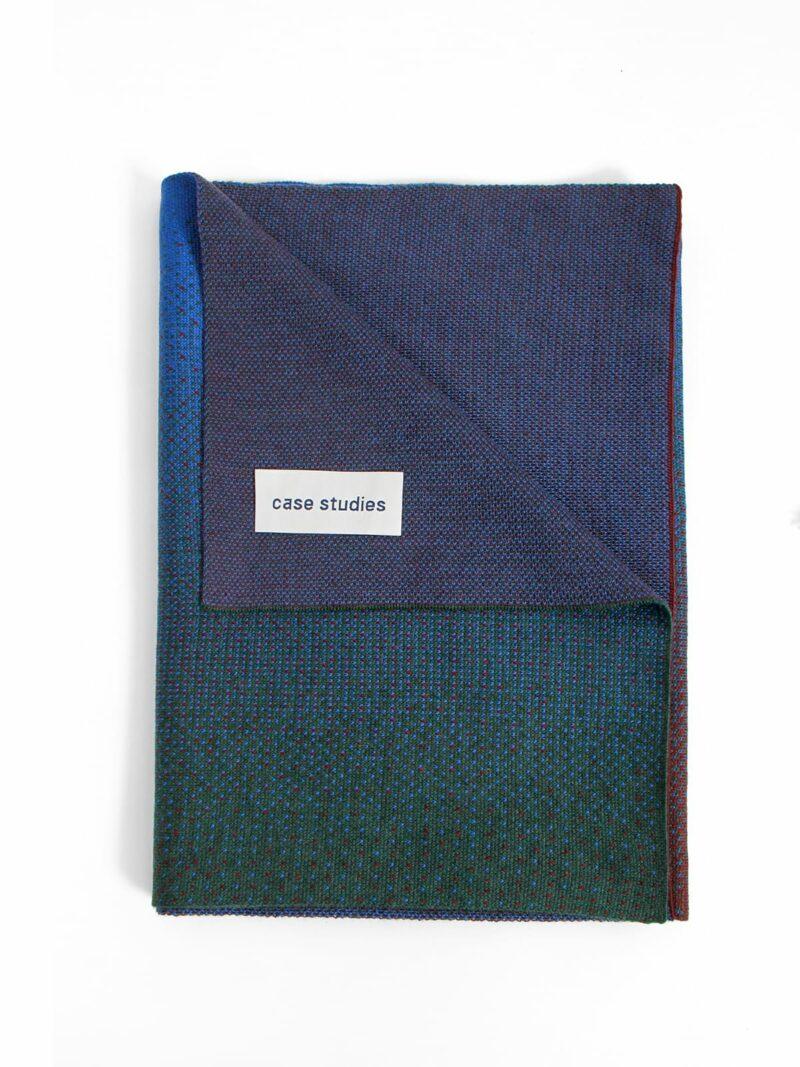 Knitted Scarf Venice - Merino Wool folded
