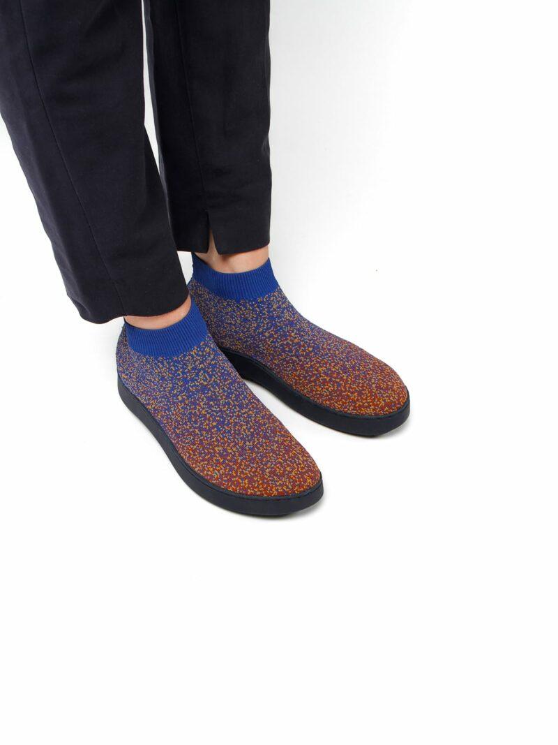 3D knitted sockboot Spexx foxy schräg K
