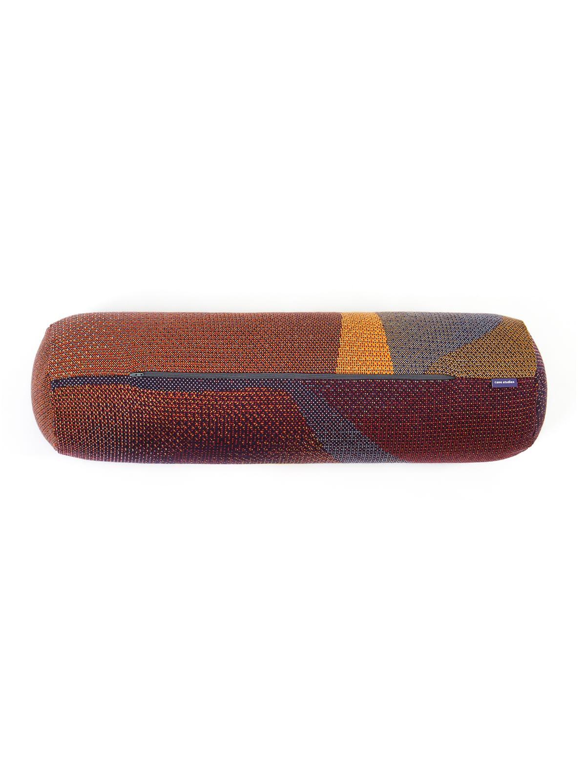 Knitted Bolster 20x70 Musselshell - Merino Wool detail